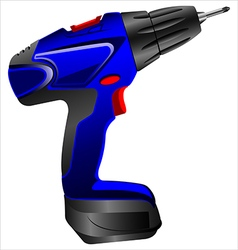 Electric screwdriver vector