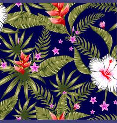 Hawaiian pattern seamless background vector