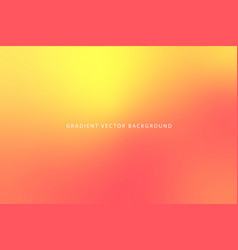 modern orange abstract gradient background vector image