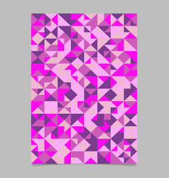 Polygonal seamless abstract mosaic triangle vector