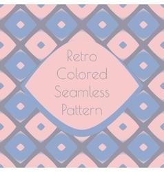 Print retro pattern vector image