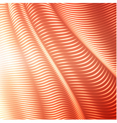 Warped dotted lines background vector