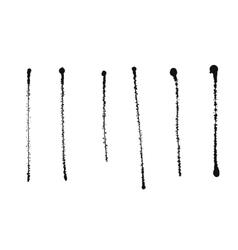 Ink splash isolated on white background vector image vector image