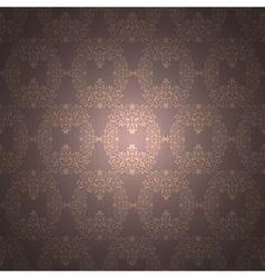 rich floral ornament Baroque Wallpaper vector image