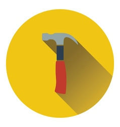 Icon of hammer vector image vector image
