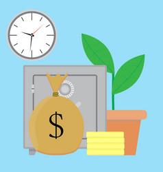 savings money vector image vector image