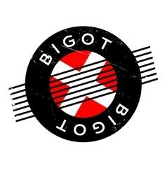 Bigot rubber stamp vector