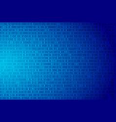 binary code data background vector image
