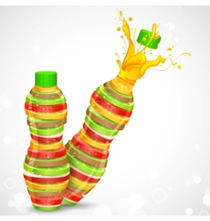 Fruit Juice vector image