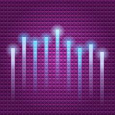 light line vector image