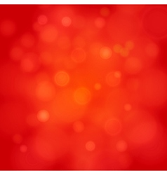 Merry christmas red bokeh background vector