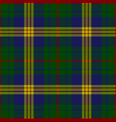 New mexico tartan plaid pattern vector