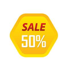 sale badge sticker logo icon design vector image