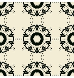 Seamless tile for oriental style wallpaper vector image