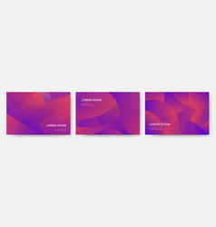 Set bright and luxury dynamic modern abstract vector