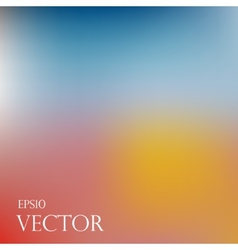 Smooth colorful background eps10 vector image