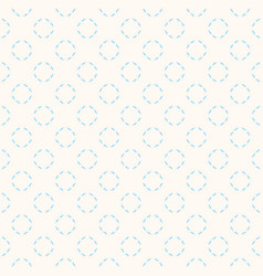 subtle seamless pattern with thin circles beige vector image