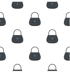 woman bag pattern seamless vector image