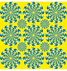 Hypnotic of rotation vector image vector image