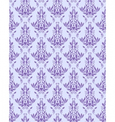 violet seamless floral texture vector image vector image