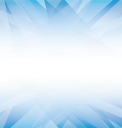 abstract white and blue bg vector image