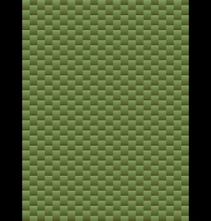 Green texture geometric seamless background vector image
