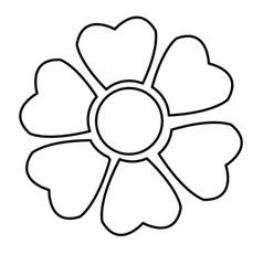 sakura flower japan natural season line vector image vector image