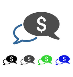 Wire transfer flat icon vector