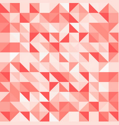 abstract red triangle and square in red or orange vector image