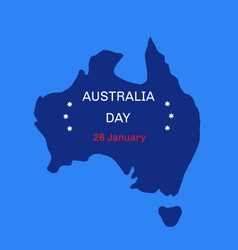 Australia day theme 26 january vector