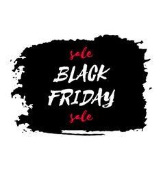 Black friday sale watercolor texture background vector
