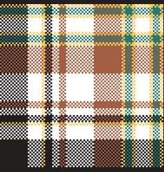 Check plaid seamless pattern vector