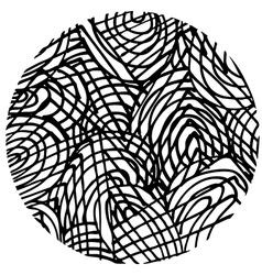 Doodle circle 4 vector