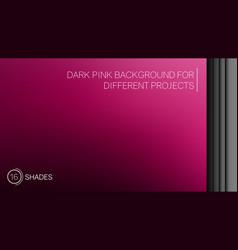 elegant dark pink gradient background vector image