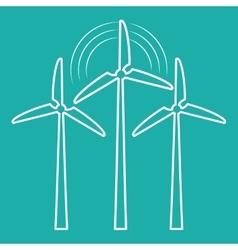 Green energy innovation vector