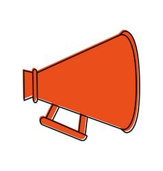 Megaphone or loudspeaker icon image vector