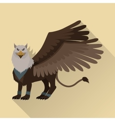 Mythical Monsters Griffin vector