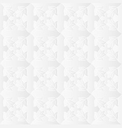 Neutral white leafy texture vector