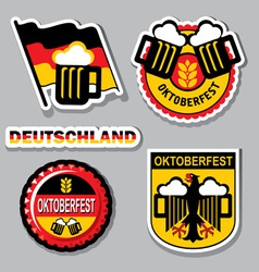 Oktoberfest label vector