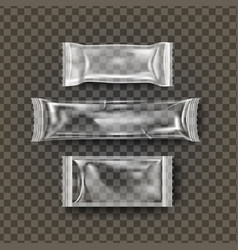 plastic biscuit transparent cookie bar vector image