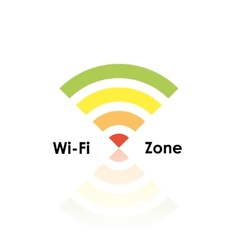 wifi zone vector image