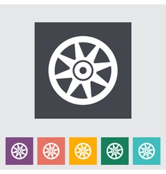 icon Car drive vector image vector image