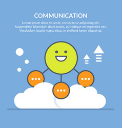 Communication or interaction vector