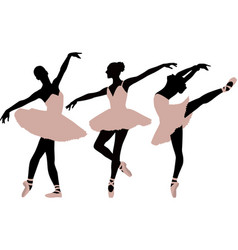 balletdancer vector image