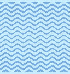 blue seamless gradient wavy line pattern vector image