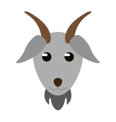 Goat livestock animal design vector