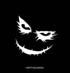 Happy halloween mask background vector