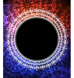 ornamented banner vector image