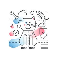 pet friend concept domestic store vector image