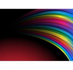 rainbow wallpaper vector image